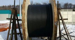 Прокладка кабеля зимой