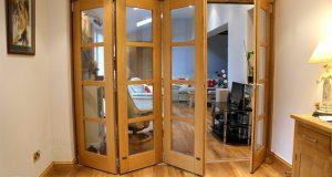 Складная дверь. Простота в использовании