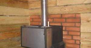 Делаем металлическую печь для бани