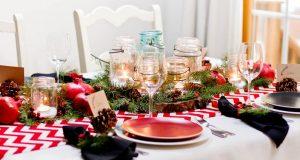 Стильные скатерти для Новогодней сервировки