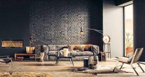Кирпичная стена в интерьере – 9 способов разнообразить кладку