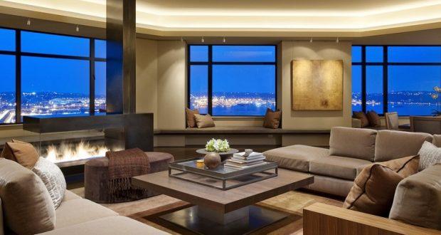 Как на ладони: панорамные окна в интерьере