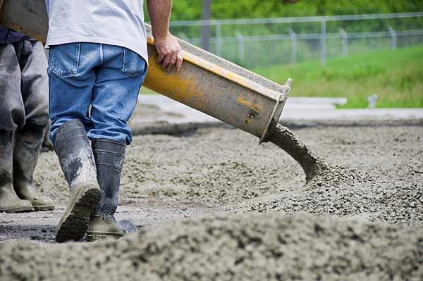 Общие сведения о бетонных и железобетонных работах